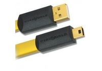 USB кабель Wireworld Chroma USB 2.0 A-miniB Flat Cable 0.5m (CSM0.5M)