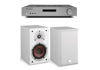 Комплект стерео Dali SPEKTOR 2 White + Cambridge Audio AXA35 Grey